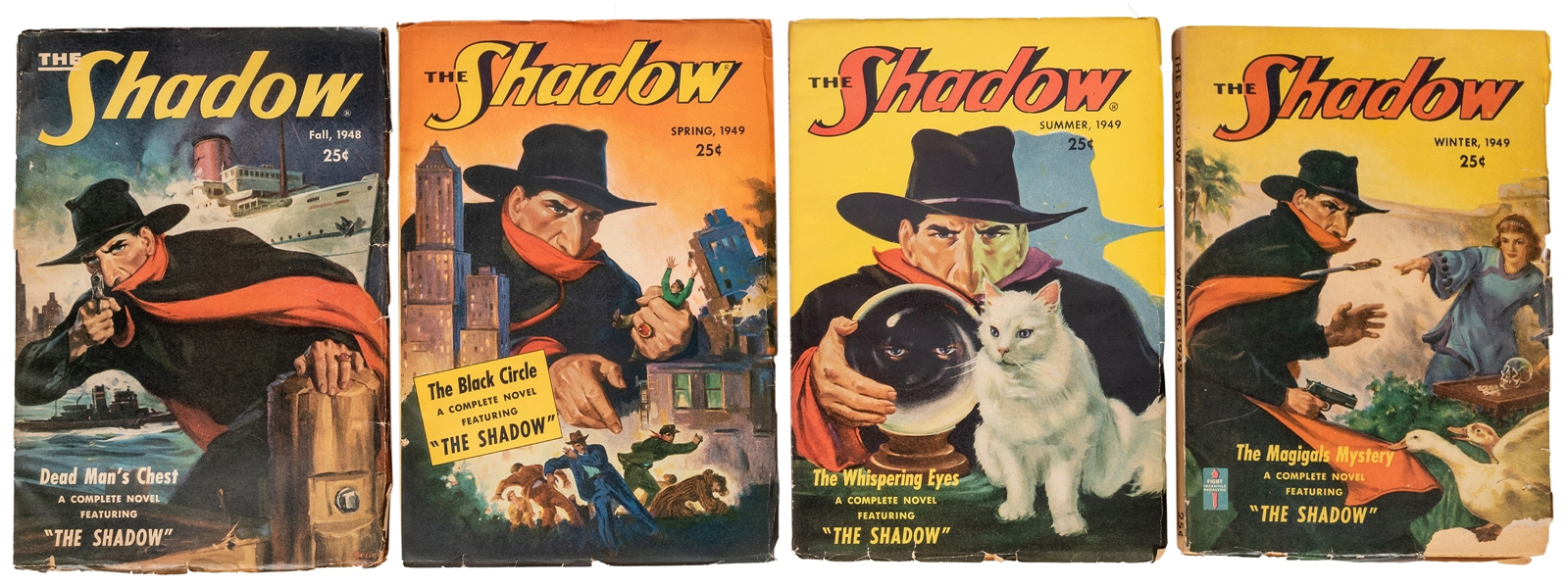The Shadow. Four Final Issues.