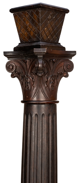 Wooden Column from the Marshall Field & Company Building.