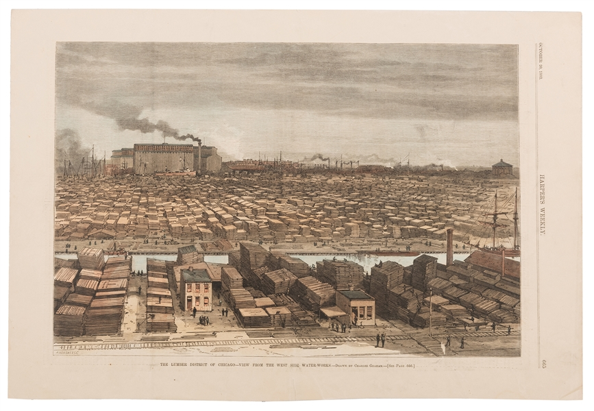 Group of Prints and Engravings of Chicago.