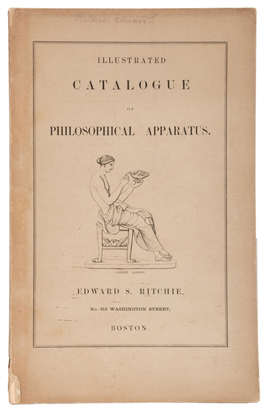 Edward S. Ritchie. Illustrated Catalogue of Philosophical Apparatus.