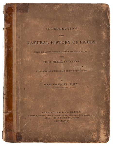 An Introduction to the Natural History of Fishes.