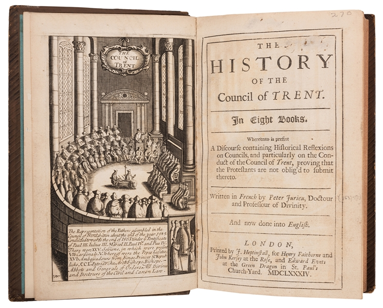 The History of the Council of Trent.