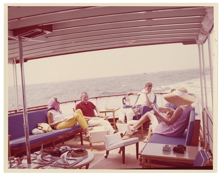 Original Photograph of JFK at Hyannis.