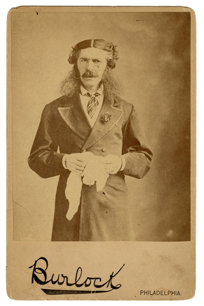 "Cabinet Photo of E.A. Sothern as Lord Dundreary in ""Our American Cousin."""