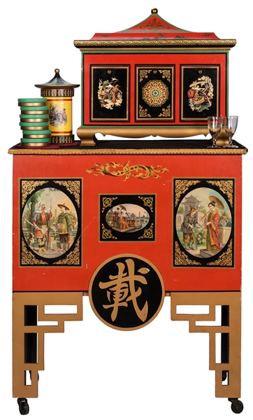 Okito Checker Cabinet.
