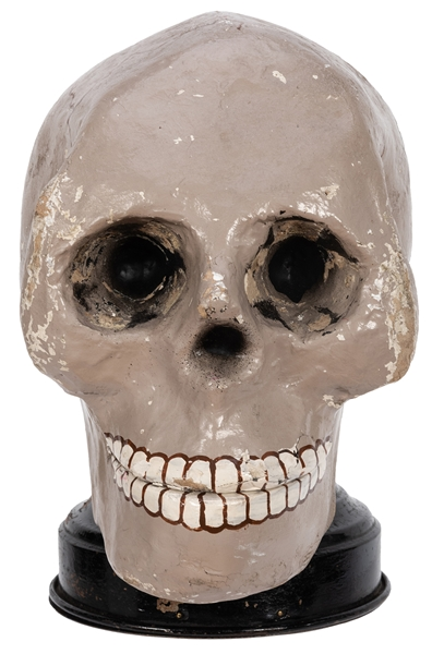 Sensational Talking Skull.