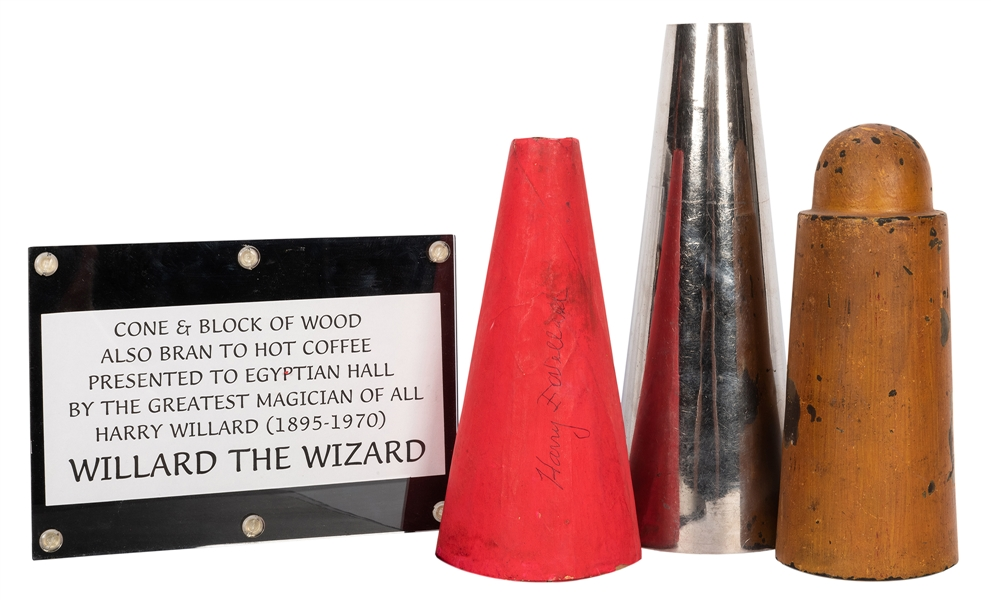 Harry Willard's Cone and Block of Wood.