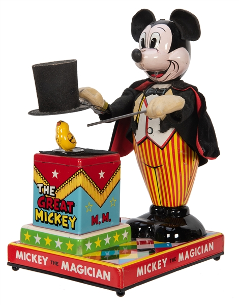 Mickey the Magician.