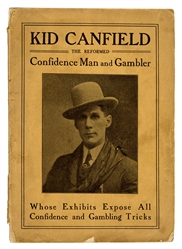 Reformed Confidence Man and Gambler, Whose Exhibits Expose All Confidence and Gambling Tricks
