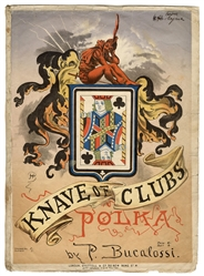 Knave of Clubs Polka Sheet Music.