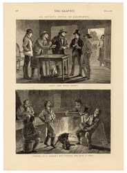 Group of Gambling Engravings and Prints From Periodicals.