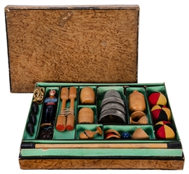 Antique French Magic Set.