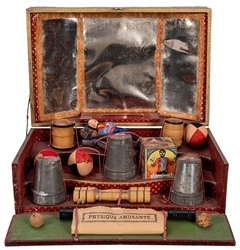 Antique French Physique Magic Set.