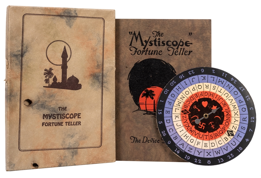 "The ""Mystiscope"" Fortune Teller."