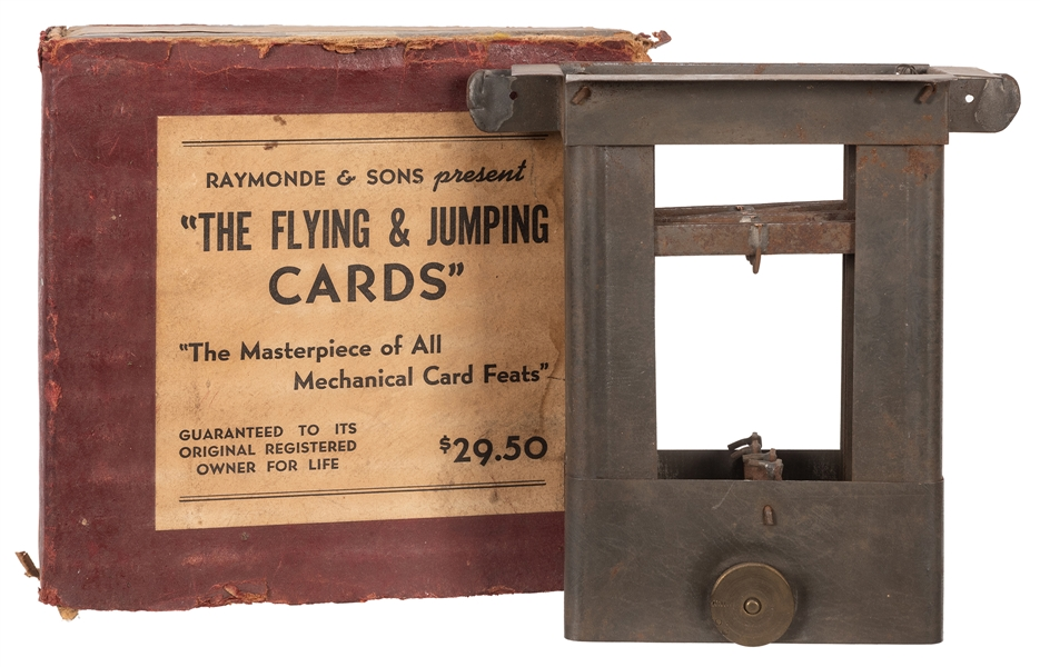 The Flying & Jumping Cards.