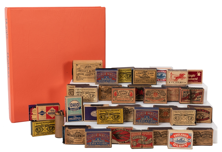 Magicians' Matchbooks and Trick Matches. A Collection.