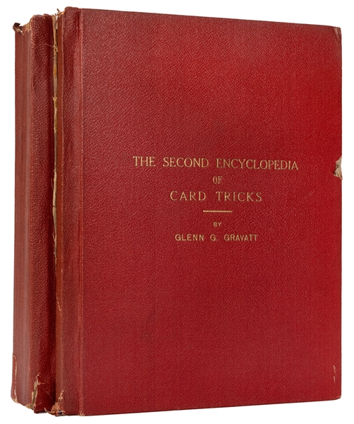 The Encyclopedia of Self-Working Card Tricks / The Second Encyclopedia of Card Tricks.