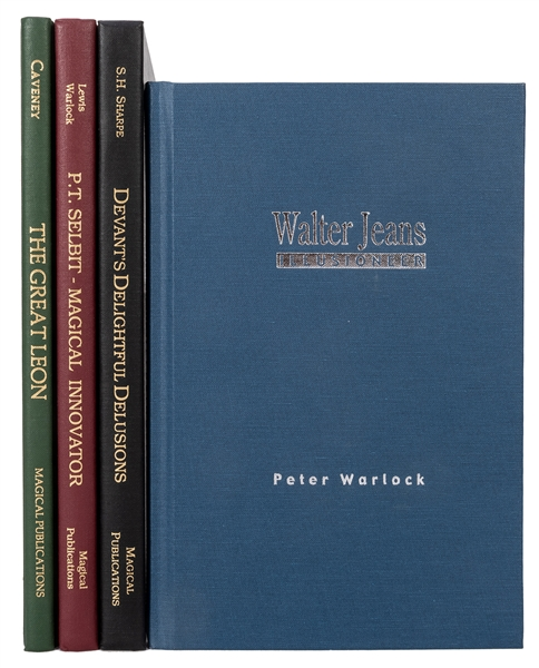Four Volumes from the Magical Pro-Files Series.