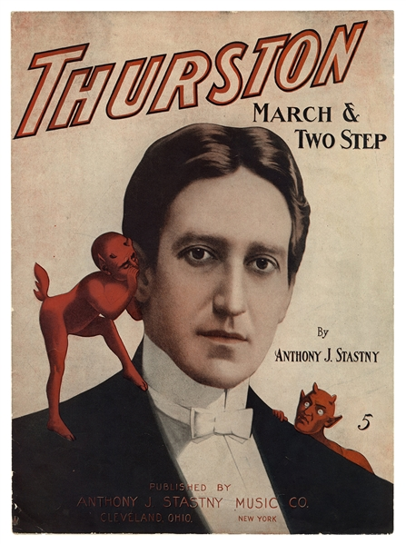 Thurston March & Two Step Sheet Music.