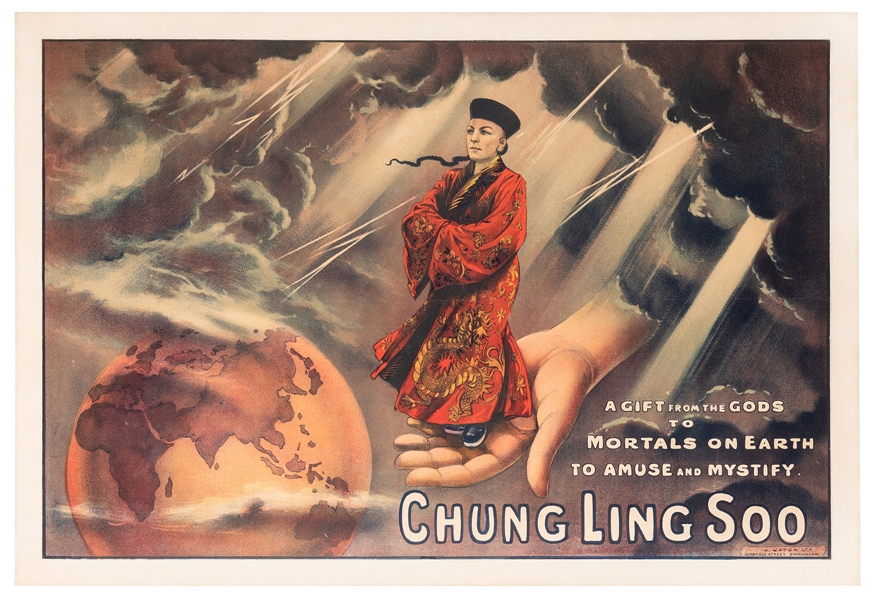 Chung Ling Soo. A Gift From the Gods.
