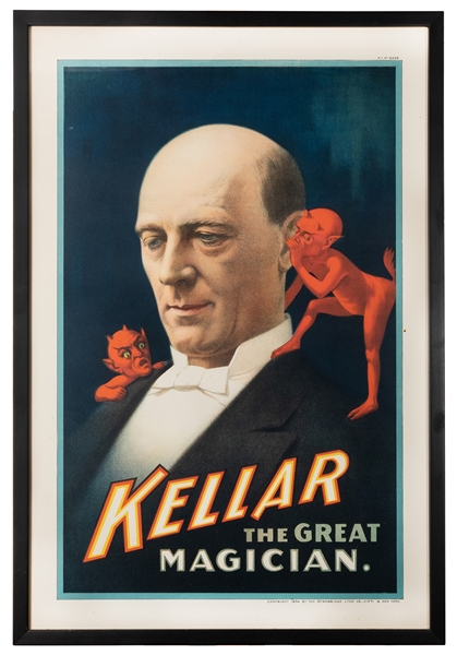 Kellar The Great Magician.