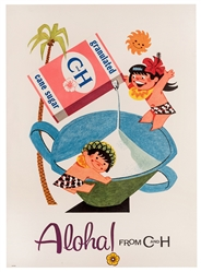 Aloha! From C and H. Granulated Sugar. Circa 1950s.