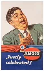 Amoco. Justly Celebrated! Circa 1940s.