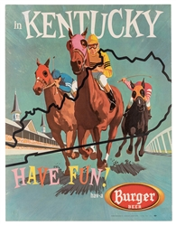 Burger Beer. Have Fun in Kentucky. Cincinnati/Akron, ca. 1955.