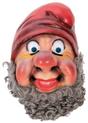 Snow White and the Seven Dwarfs Plastic Mascot Head.