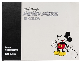 Walt Disney's Mickey Mouse in Color. Signed.