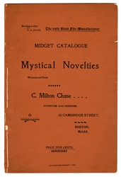 C. Milton Chase Midget Catalogue [of] Mystical Novelties.