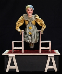 Acrobat Clown on Two Chairs Automaton.