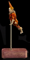 Clown on Ladder Acrobatic Automaton.