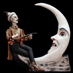 Pierrot on the Moon Automaton.