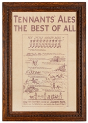 Tennants' Ales the Best of All.