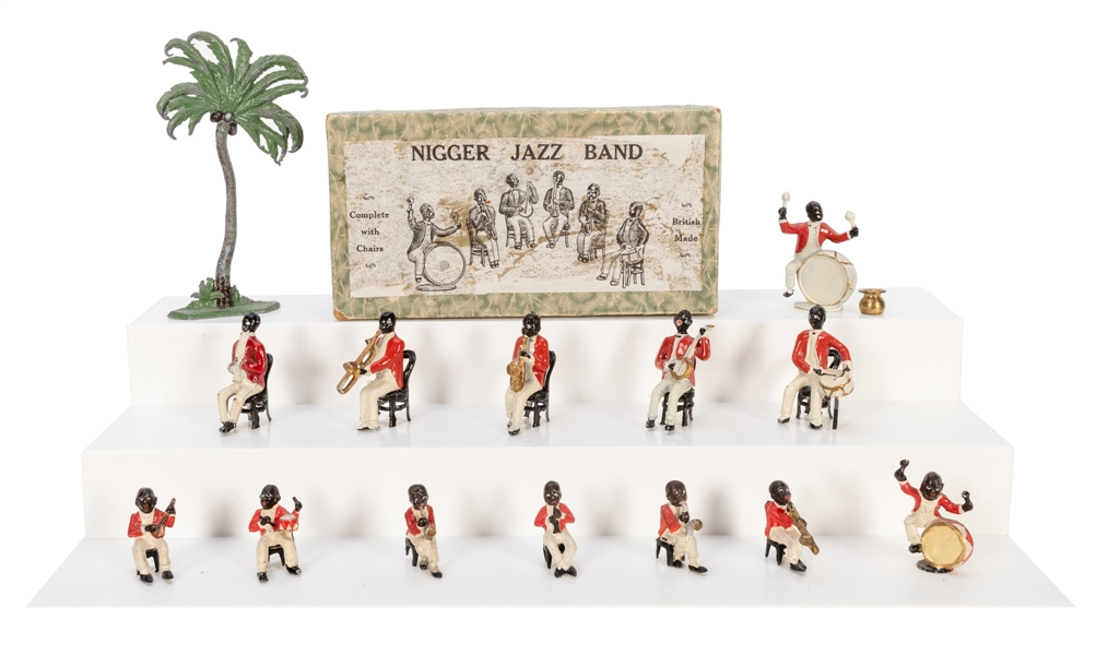 Black Americana Diecast Jazz Band. 14 pcs.