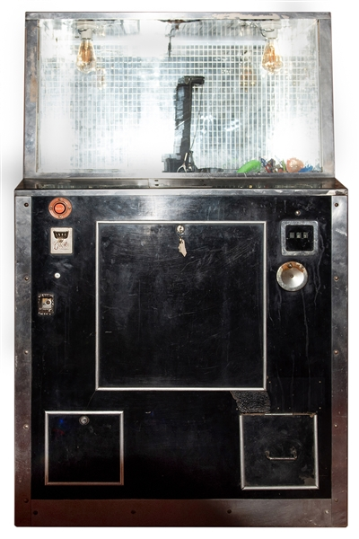 Bally Coin-Operated Claw Digger Arcade Game.