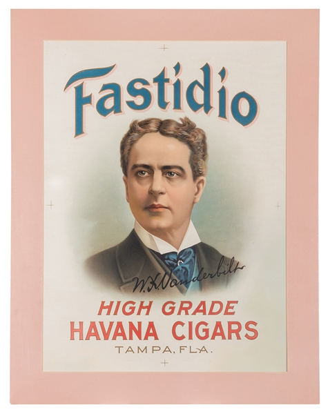 Fastidio Havana Cigars Printers Proof.
