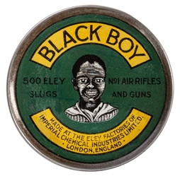 Black Boy Air Rifle Slugs Tin.