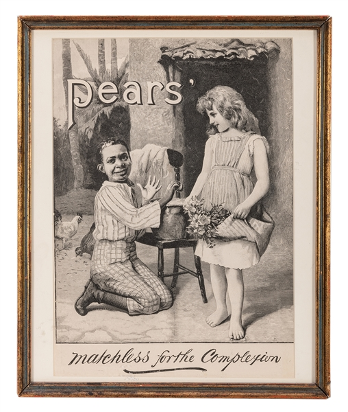 Pears' Soap Advertisement.