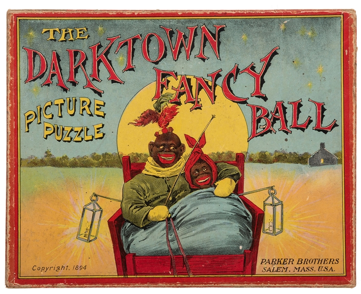 The Darktown Fancy Ball Picture Puzzle.