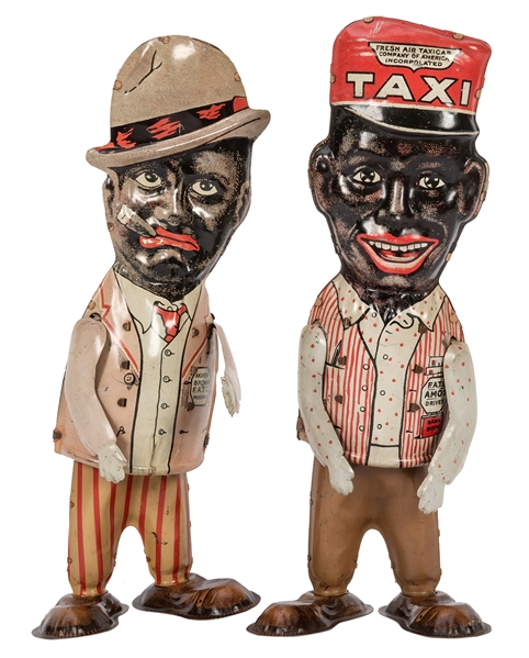 Marx Amos 'N' Andy Walker Wind-Up Toys.