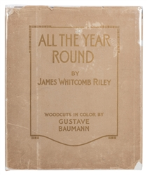 All the Year Round. Woodcuts by Gustave Baumann