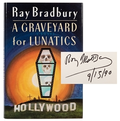 A Graveyard for Lunatics, Inscribed and Signed.