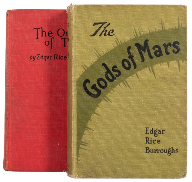 Pair of Edgar Rice Burroughs First Editions.