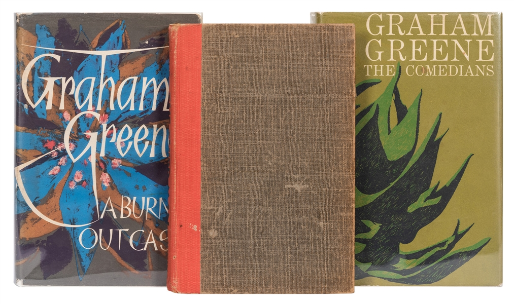 Three Graham Greene Books.