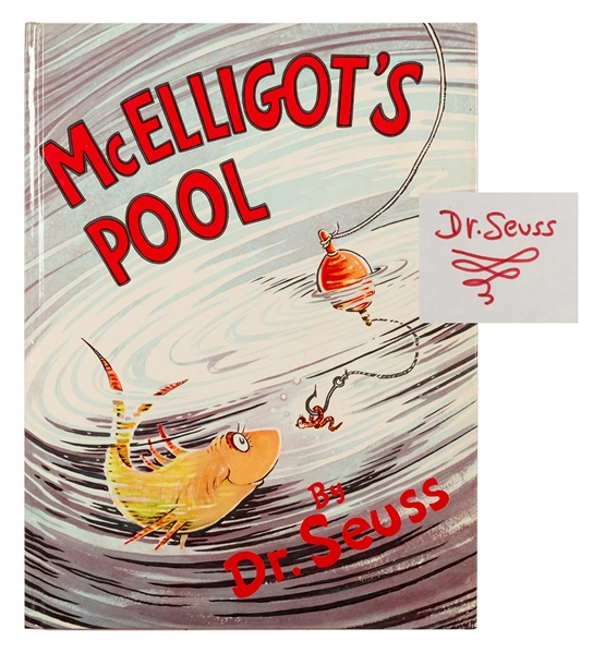 McElligot's Pool, Signed by Seuss.