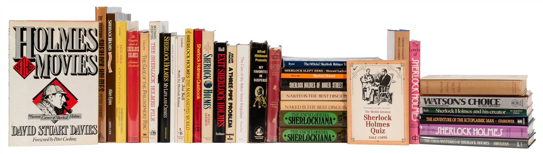 "A Large Collection of ""Sherlockiana"" Including Books, Magazines, and Journals."