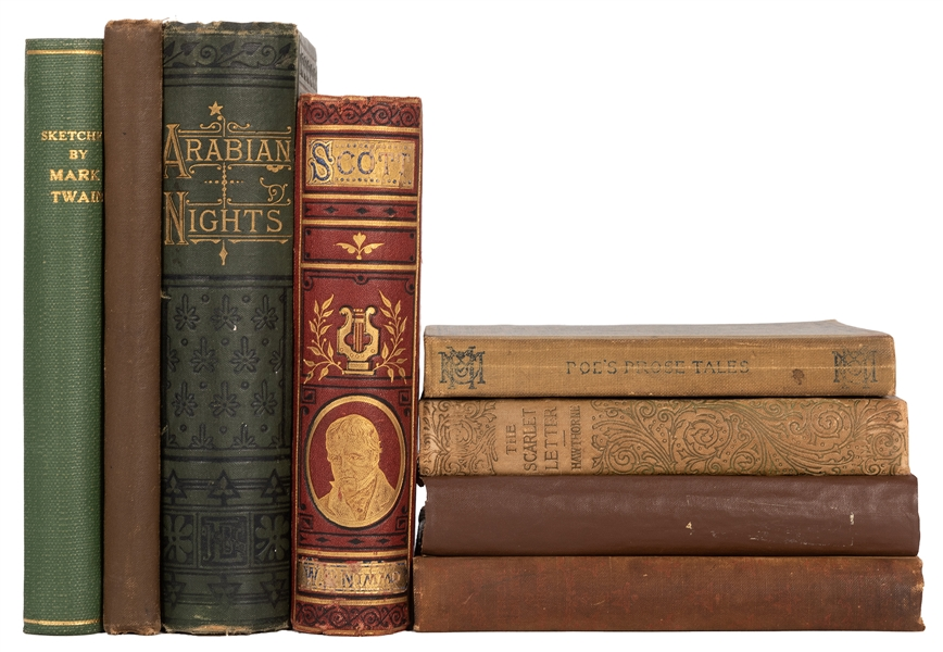 Group of 19th Century Literature. 8 Works.