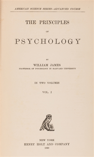 The Principles of Psychology.